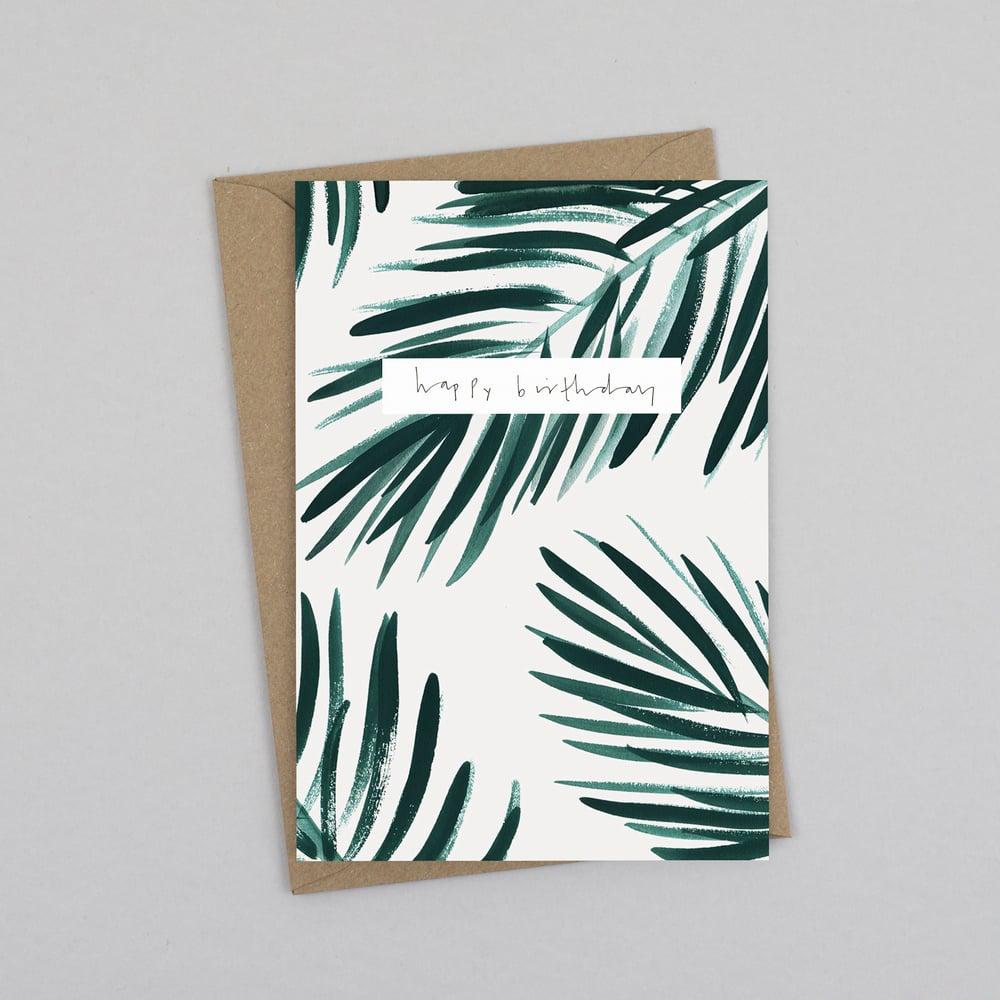 Image of Happy Birthday Palm