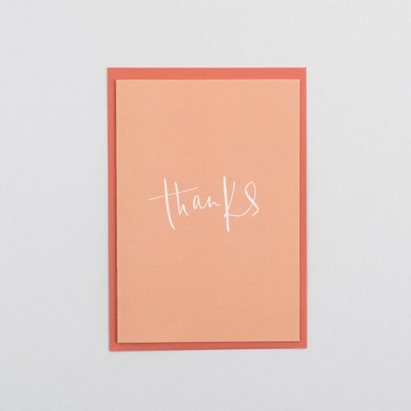 Image of Thanks