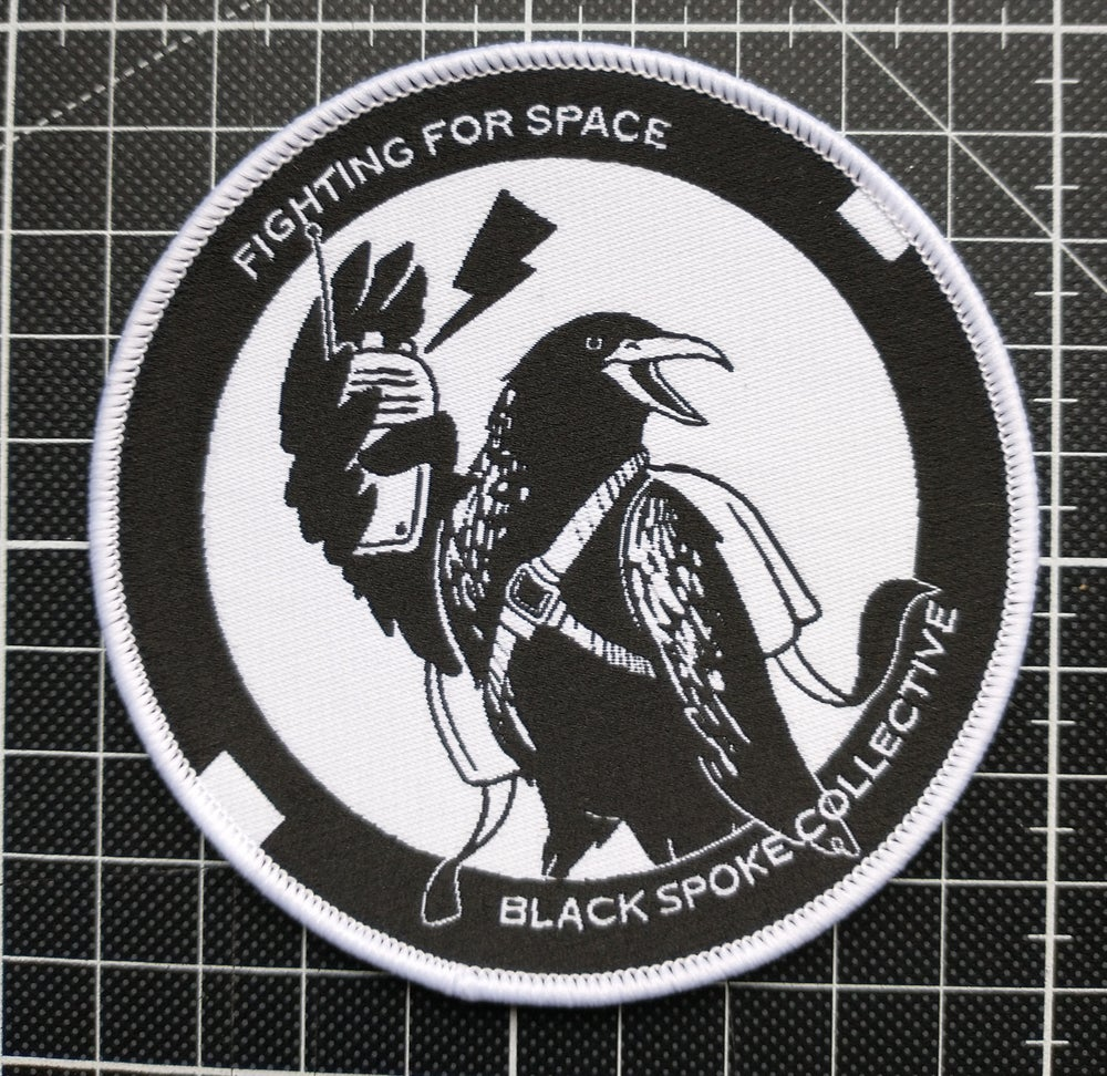 Image of Fighting For Space woven patch