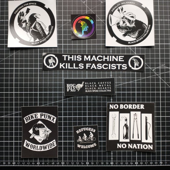 Image of BSC Sticker pack