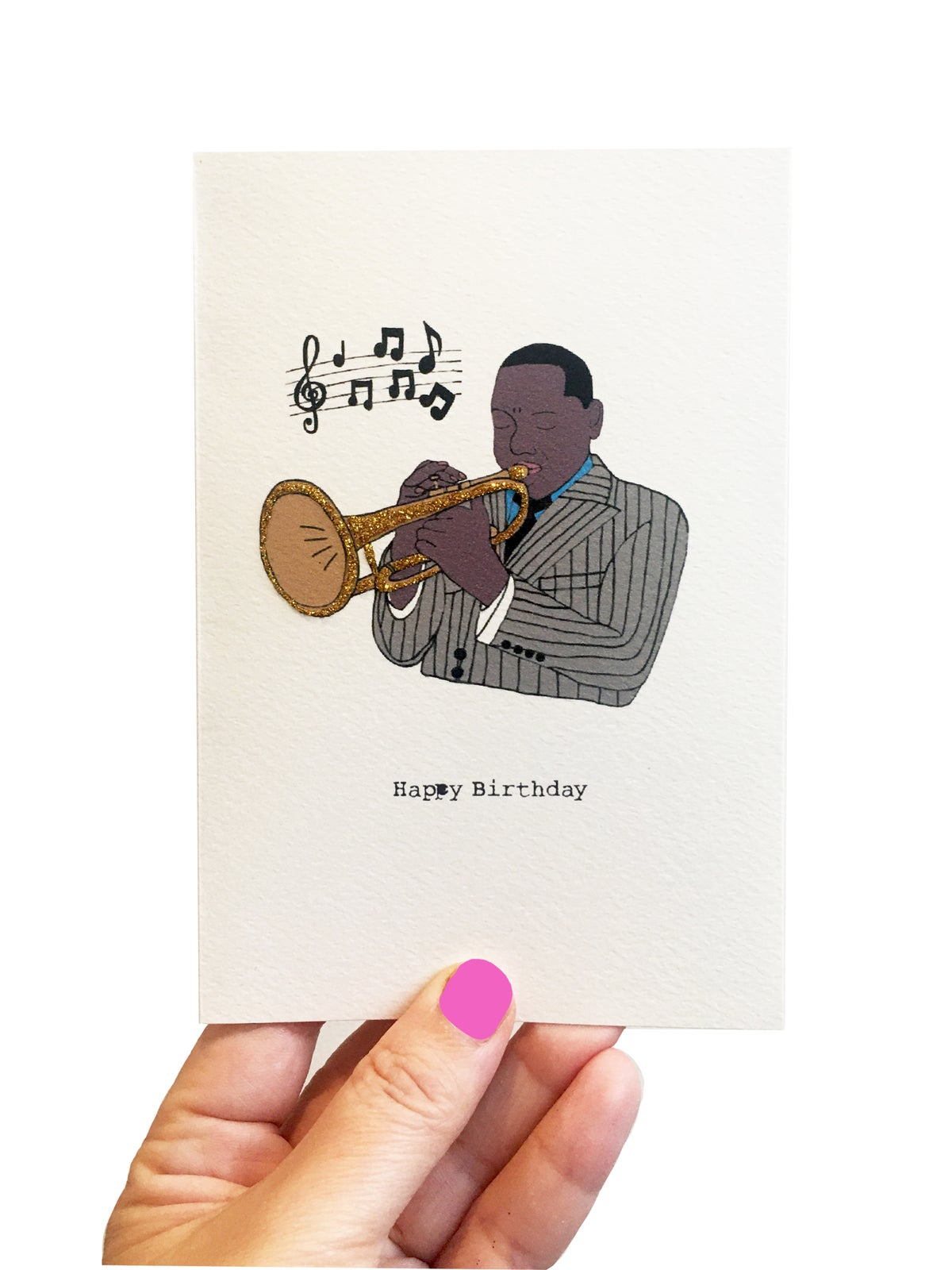 Jazz Happy Birthday Card