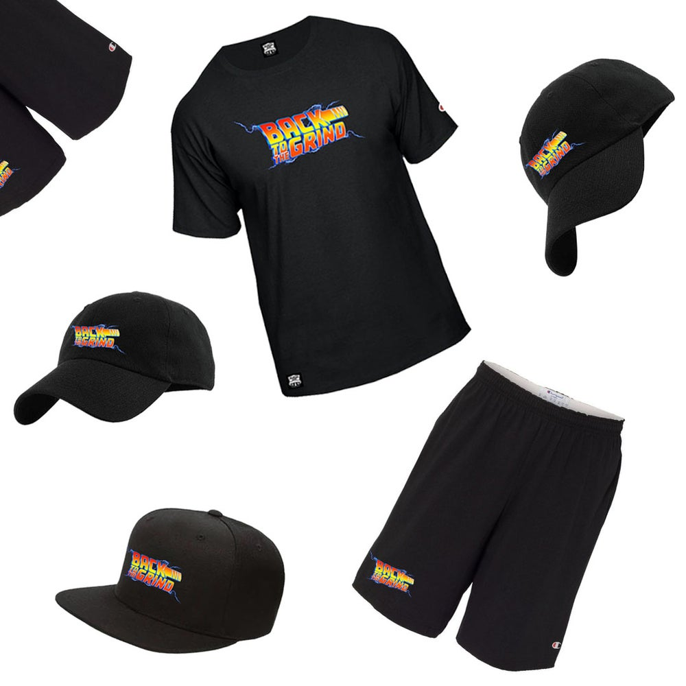 Image of New - Back To Grind Official Champion Gear