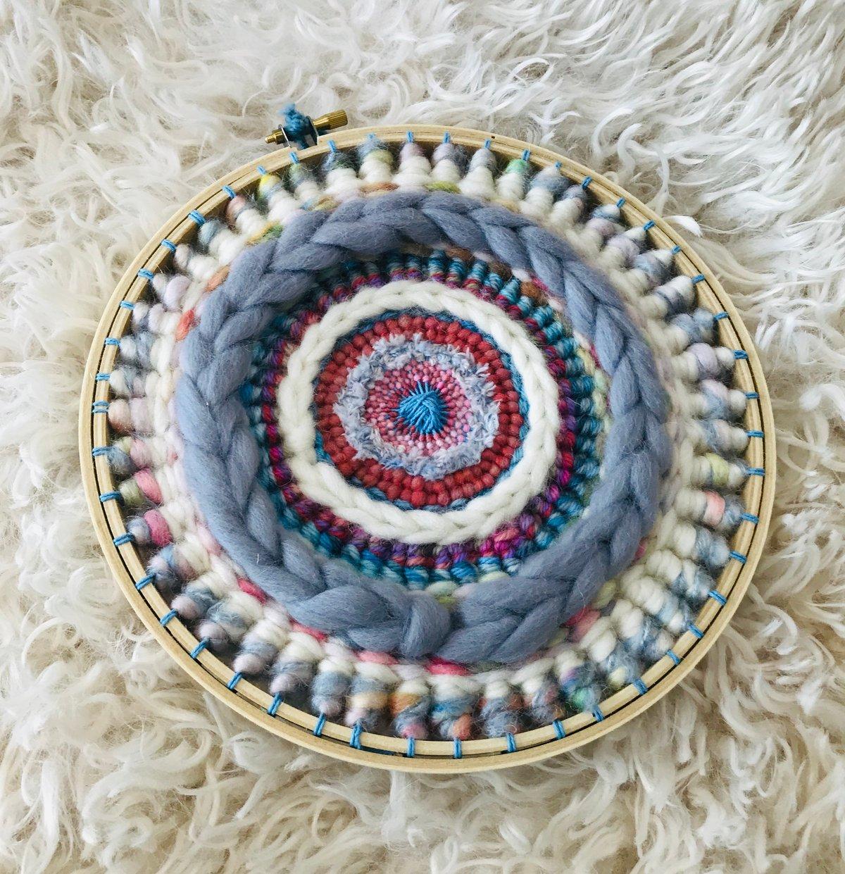 Some Shades of Grey Circular Weaving