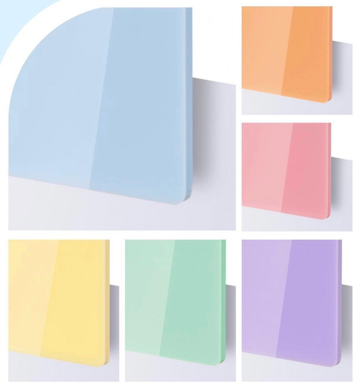 Image of White Acrylic Sign Discs