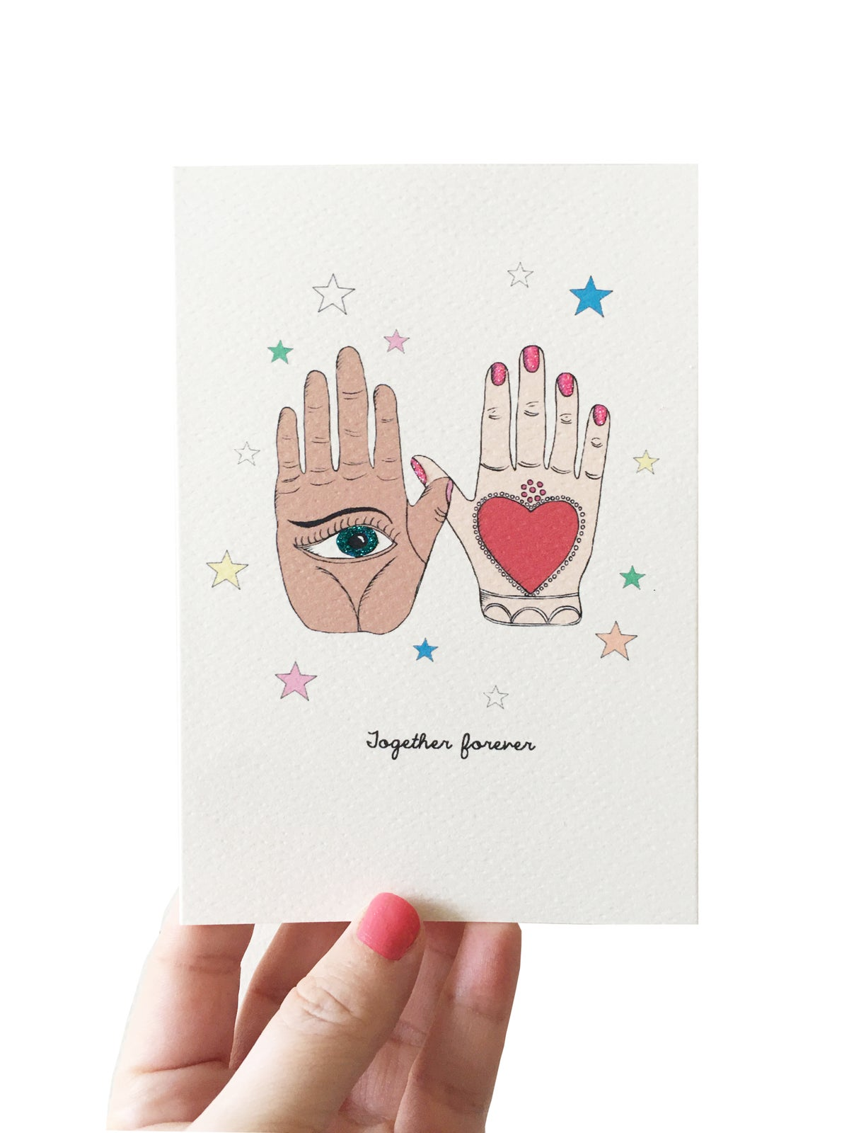 **NEW** Stars Love Card - Together Forever