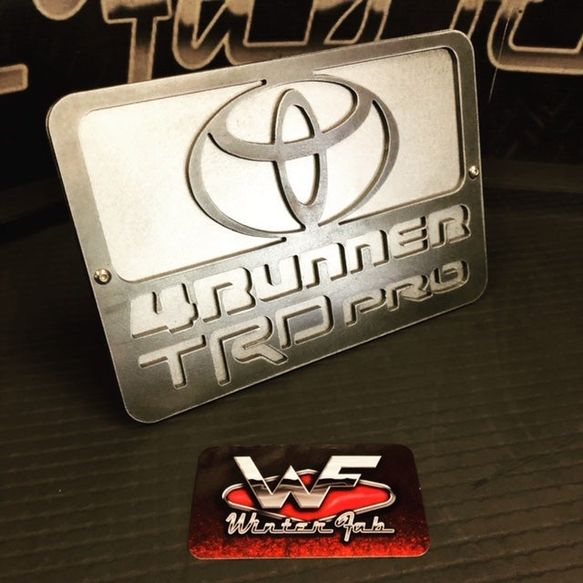 Image of Toyota 4Runner TRD Pro Hitch Cover - Two Layer