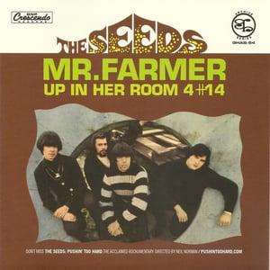"Image of 7"". The Seeds : Mr Farmer.    Ltd edition."