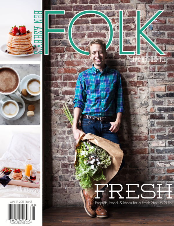 Image of DIGITAL ISSUE: FOLK — A Fresh Start