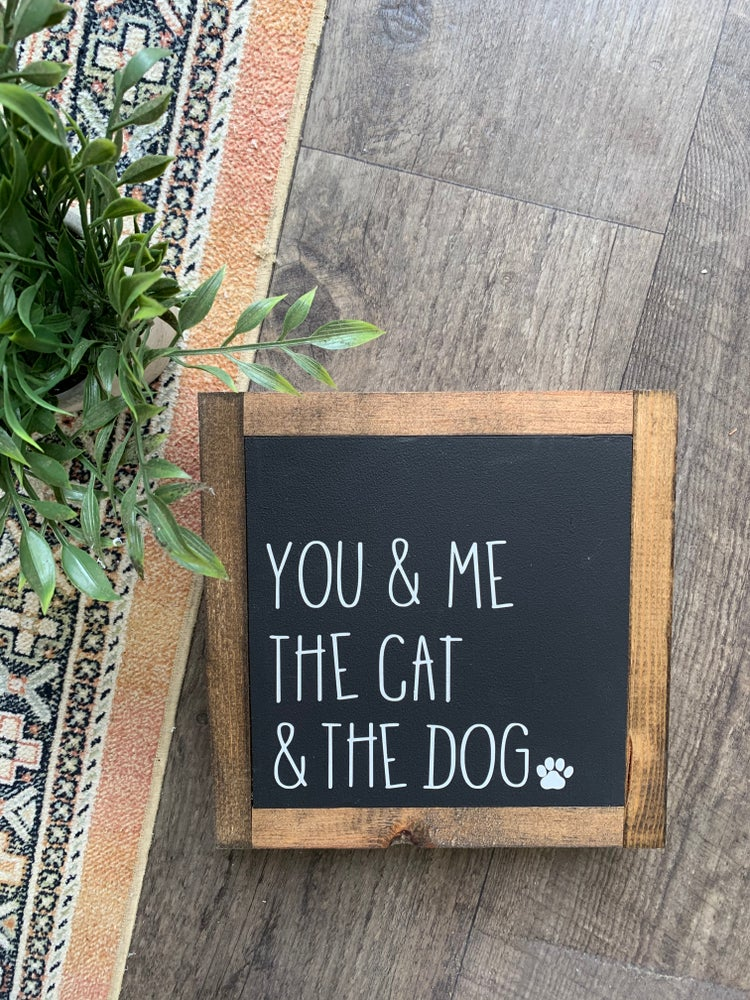 Image of You, Me, The Cat and the Dog