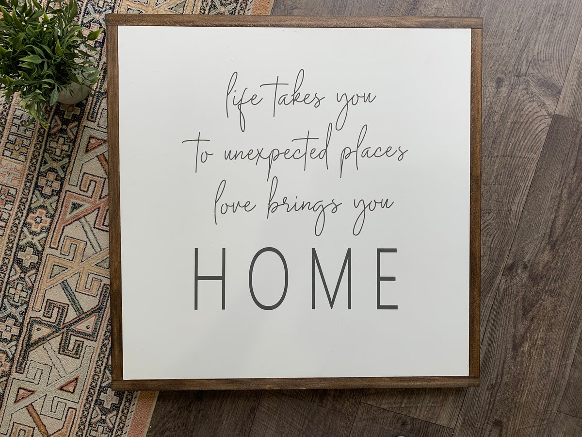 Image of Love brings you home