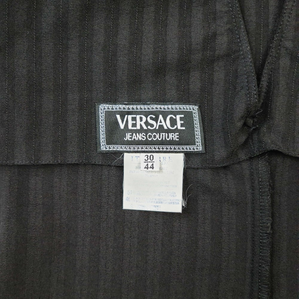 Image of Versace Jeans Couture Bodycon Dress Black