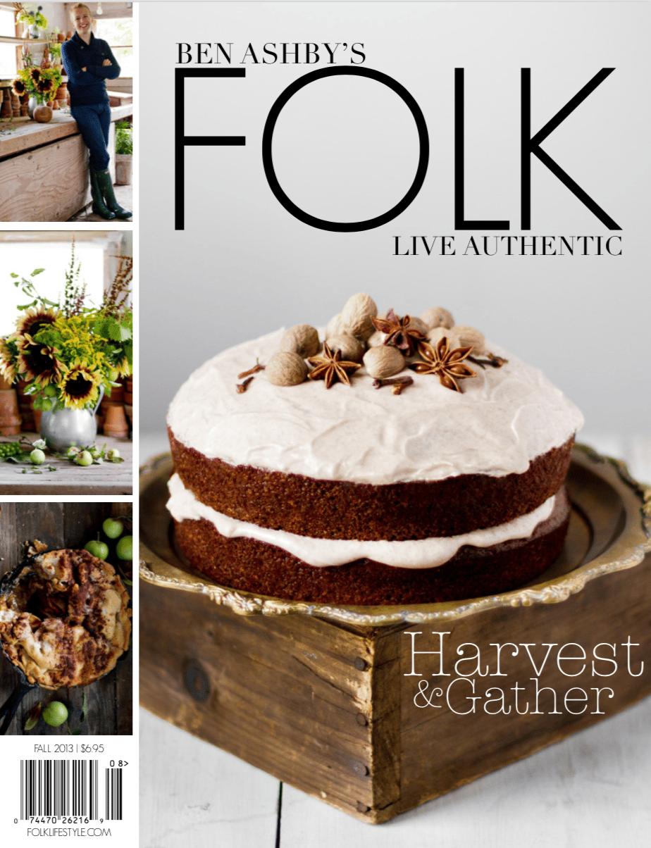 Image of DIGITAL ISSUE: FOLK — Harvest & Gather