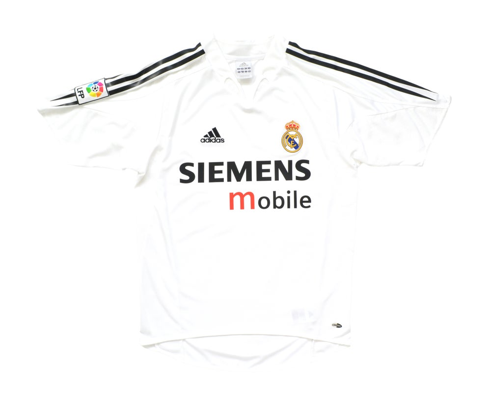 Image of 2004-05 Adidas Real Madrid Home Shirt S