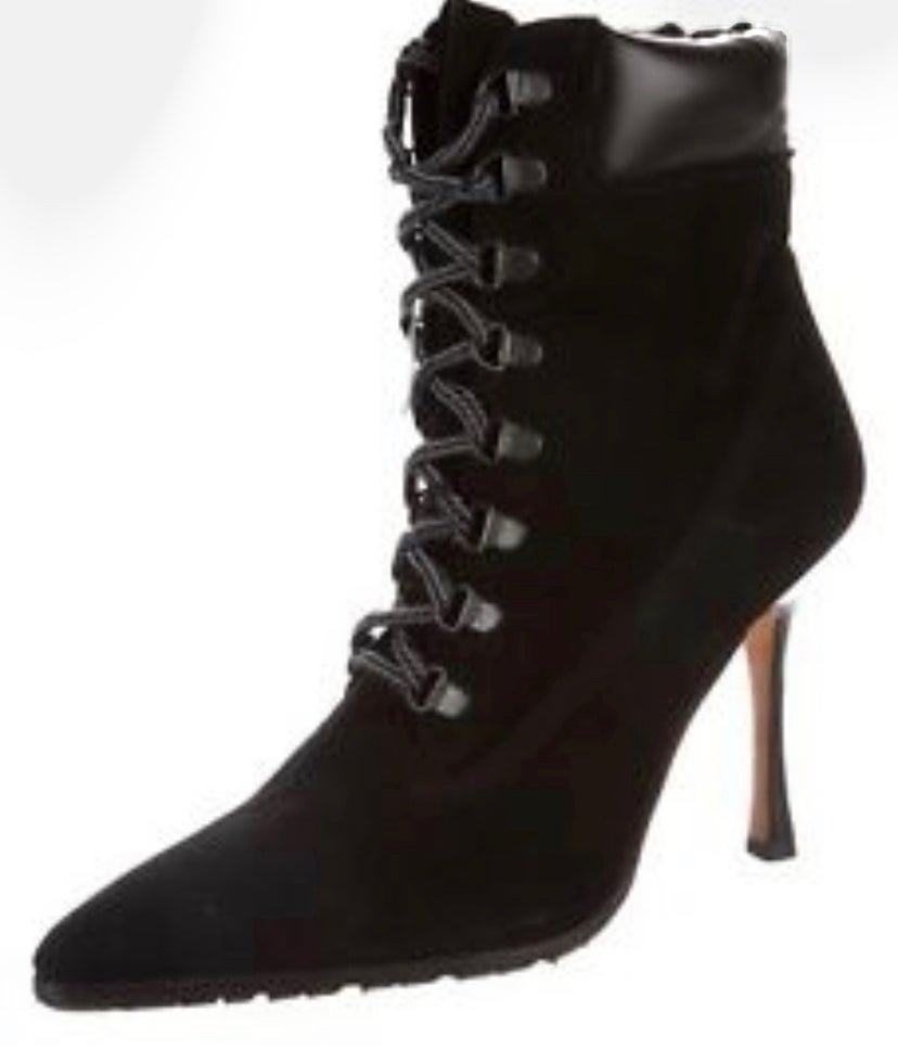 Image of Manolo Blahnik Oklamod Boots