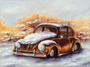 Image of Winter Bug ( Giclee canvas wrap)