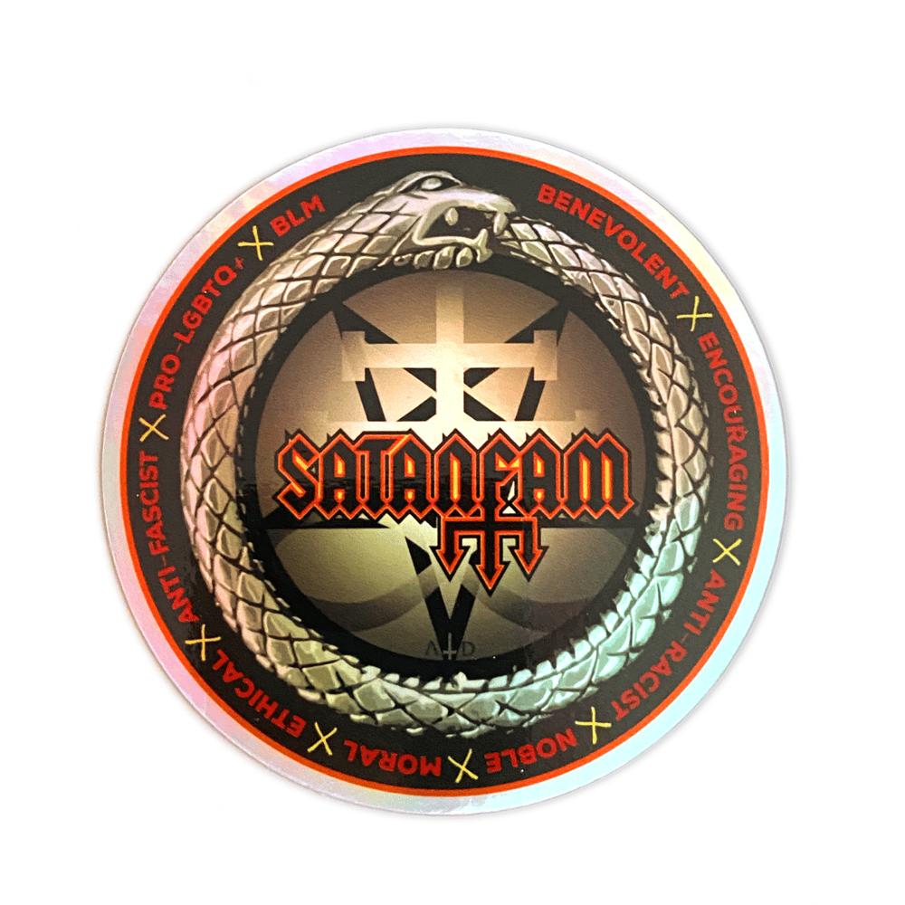 SatanFam Sigil Sticker