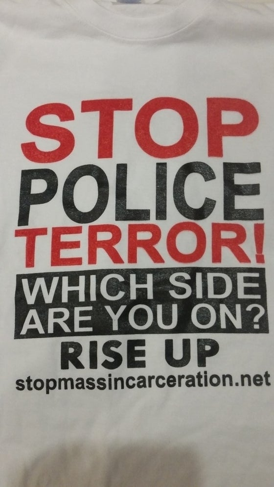 Image of Stop Police Terror Shirt- Which Side Are You On?