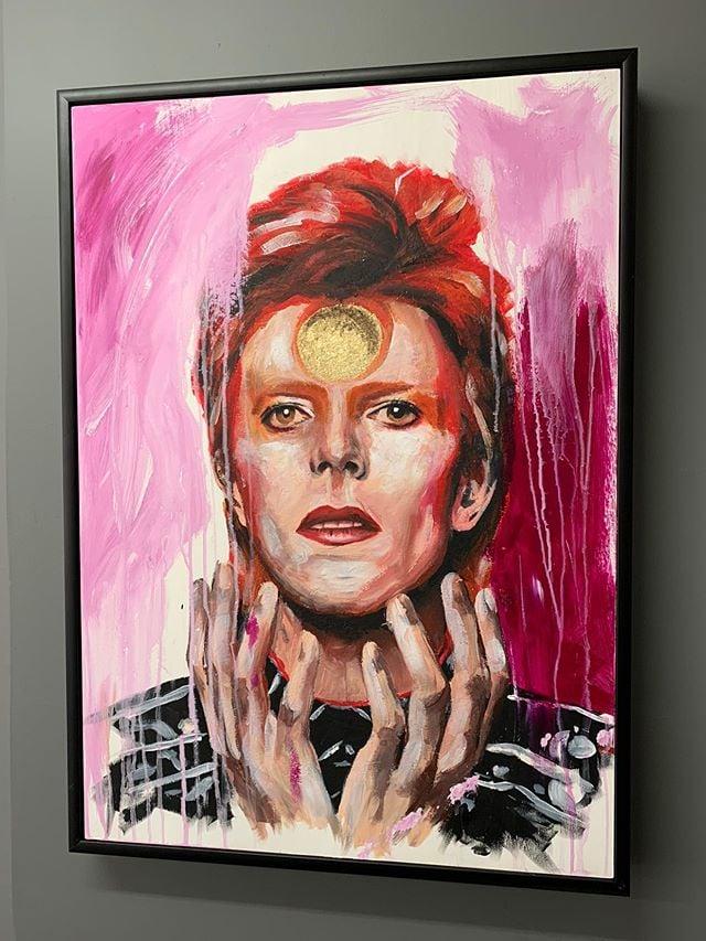 David Bowie - Starman (Premium Framed Prints)
