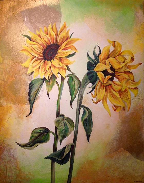 Image of The Life of Sunflowers