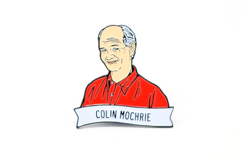 Image of Colin Mochrie Enamel Pin