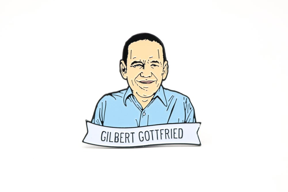 Image of Gilbert Gottfried Enamel Pin