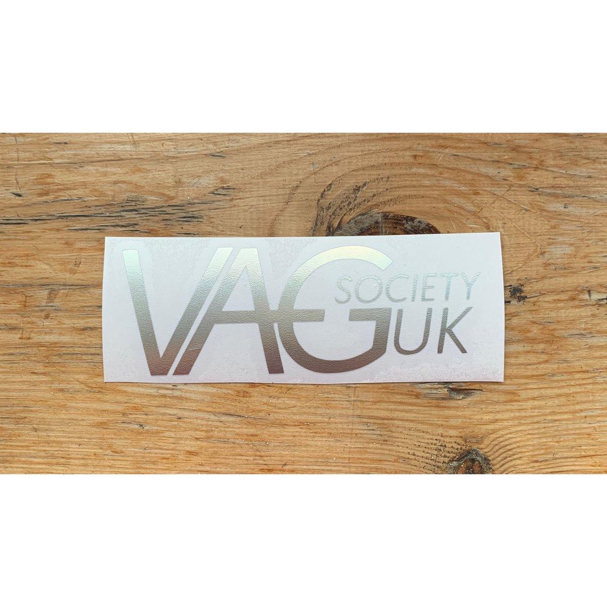 Image of VAGSocietyUK OG Logo Sticker