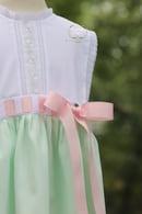 Image 1 of Mint Heirloom Primrose Sunsuit & Dress