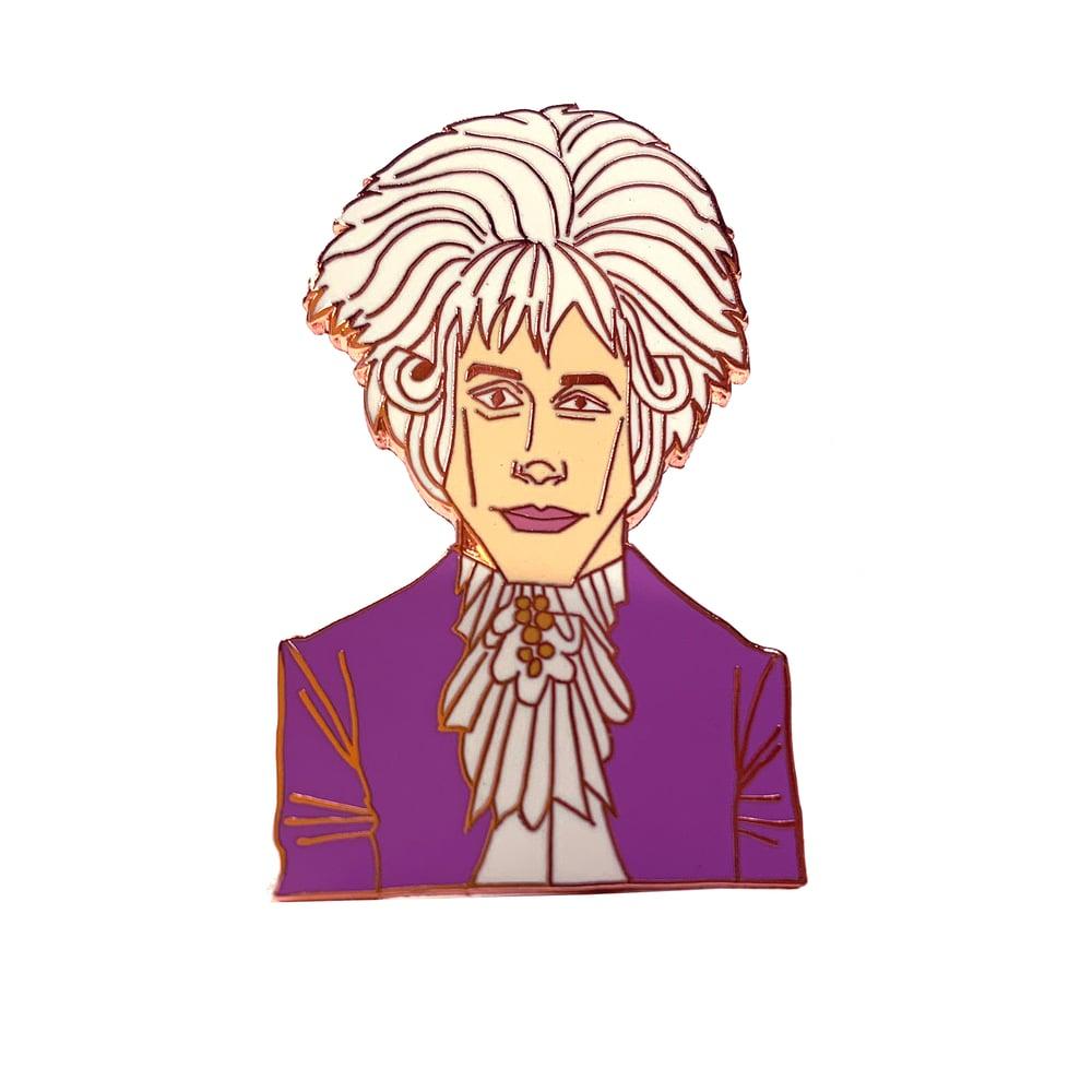 Image of Wolfgang Amadeus Mozart Enamel Pin