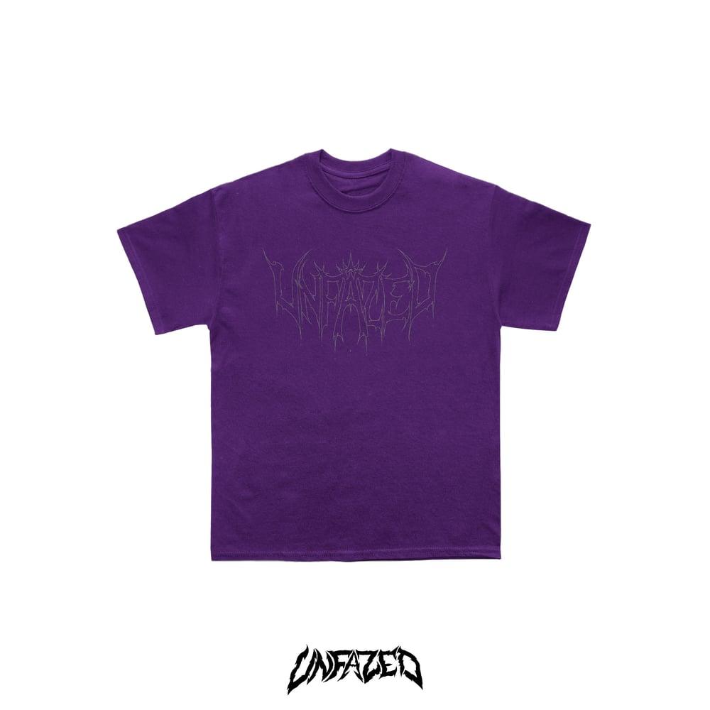 "Image of ""Phantom"" T shirt Purple"