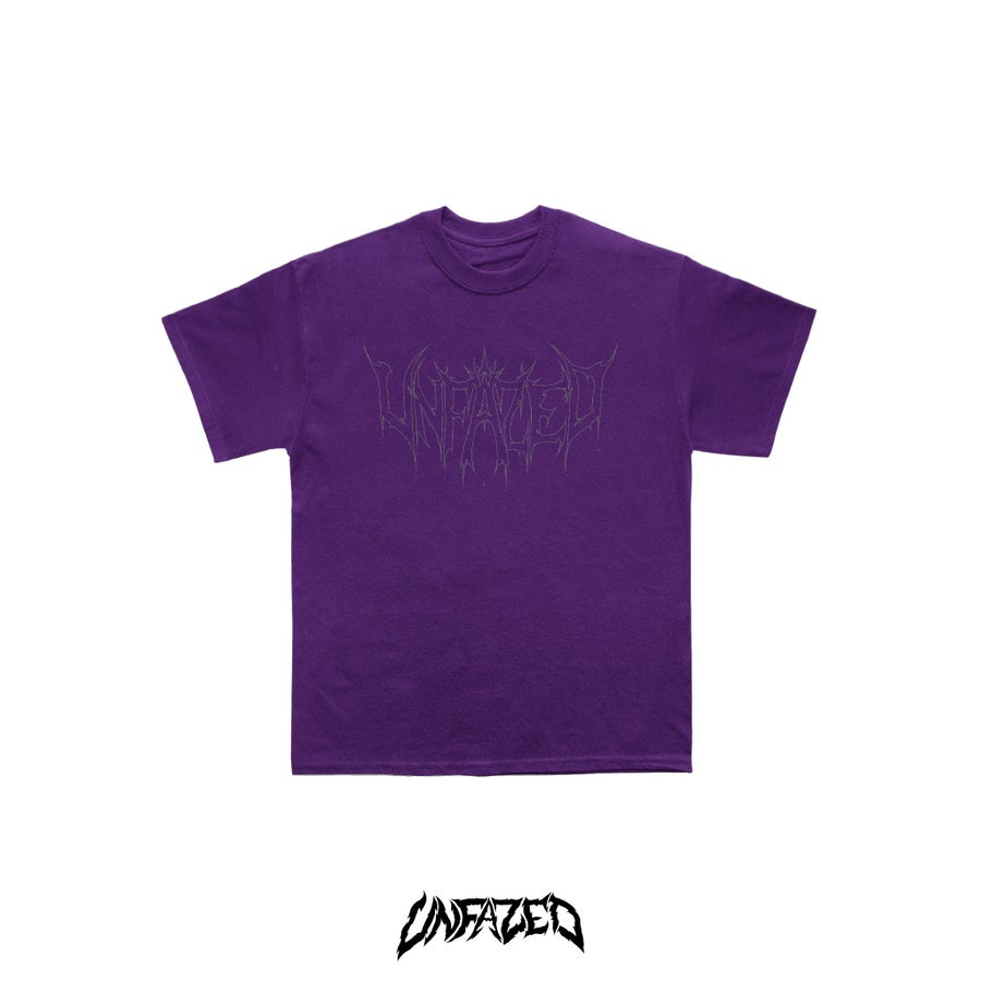 "Image of ""Phantom"" T shirt Purple"
