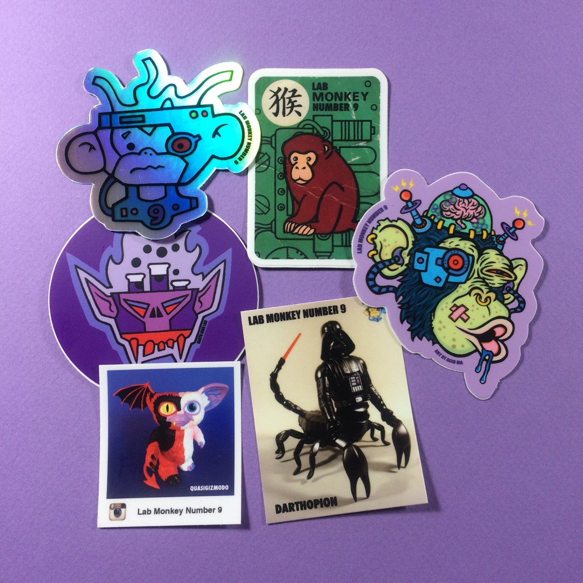 Image of LM9 Sticker Pack 2