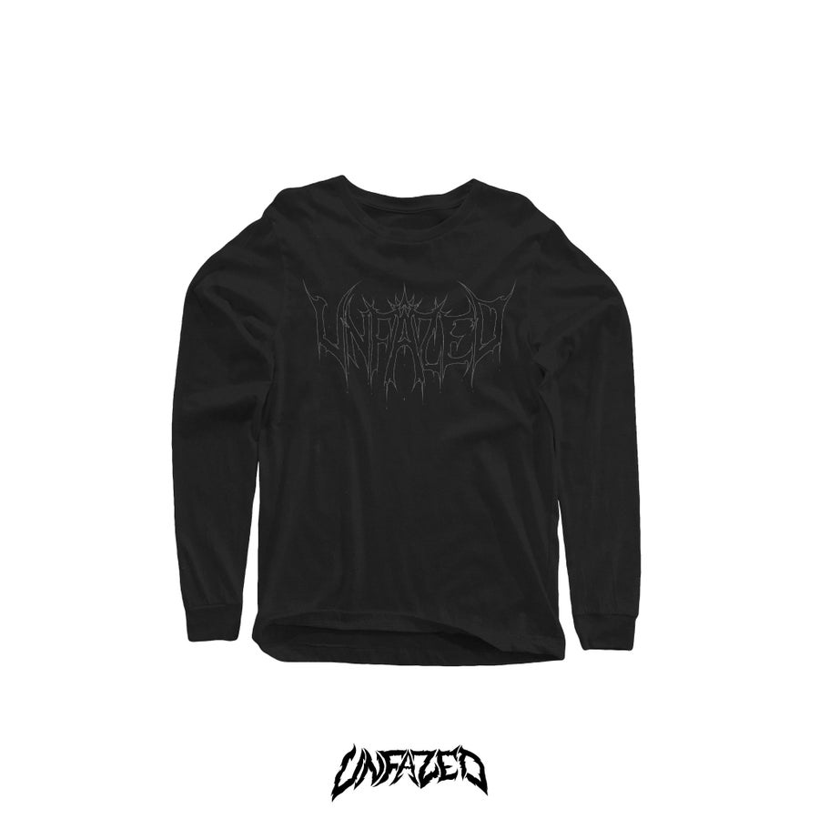 "Image of ""Phantom"" Long sleeve (Black)"
