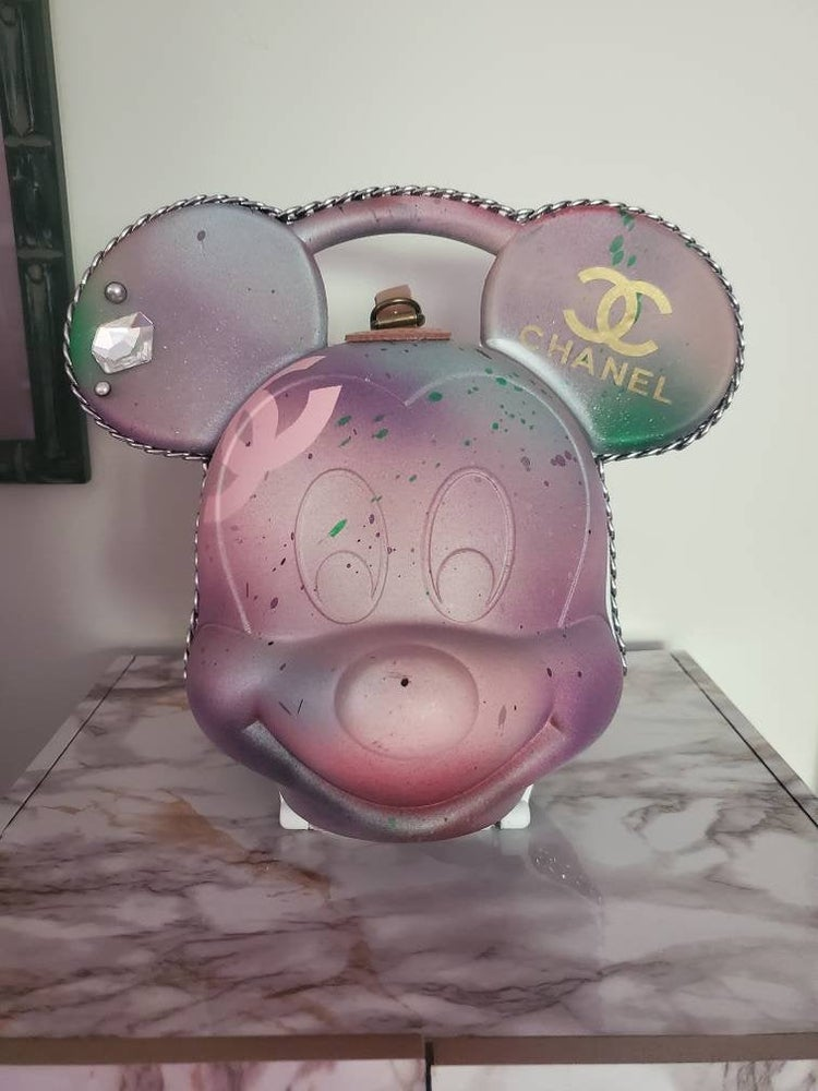 Image of Mickey Mouse Designer Series Lunchbox Purse 2