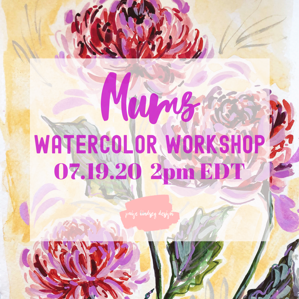 Image of Learn How to Paint Mums