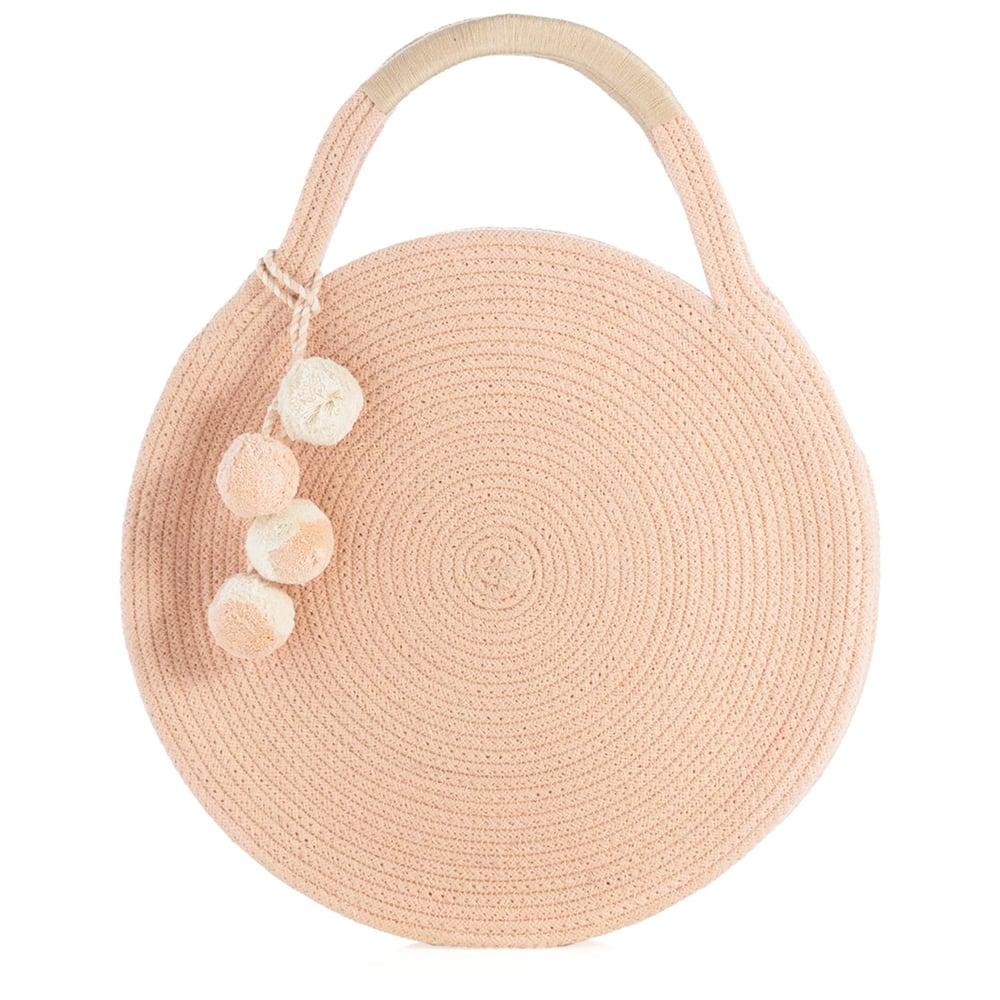 Image of Woven Circle Bag