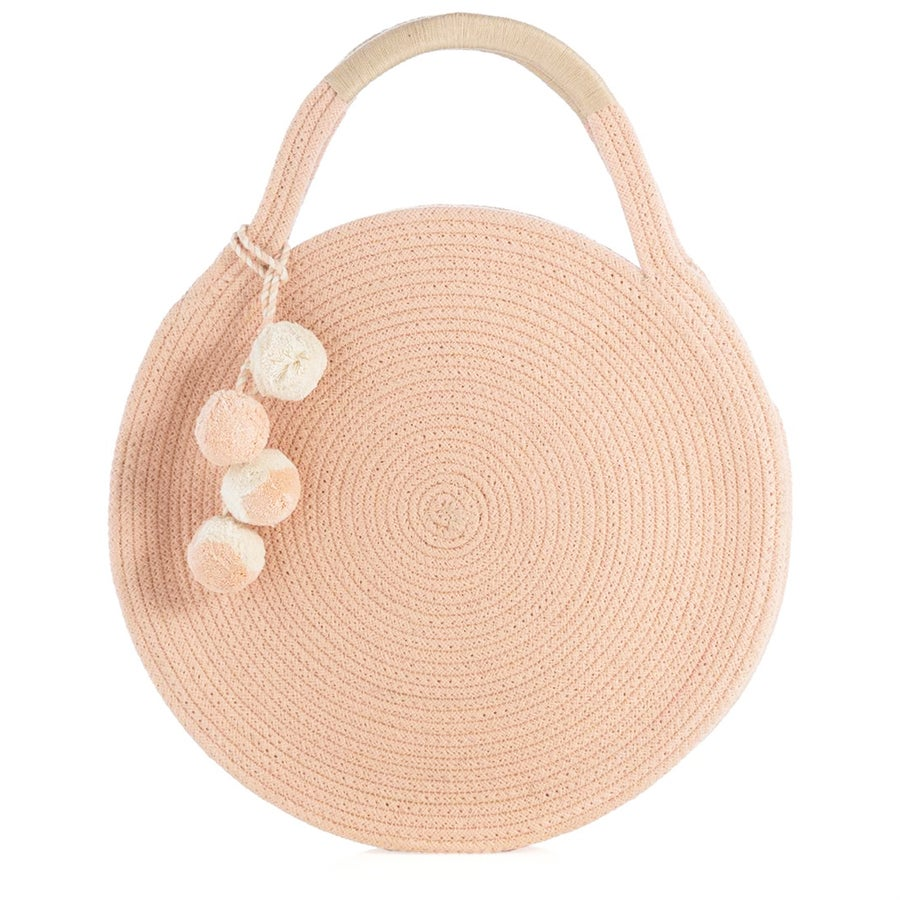 Image of Woven Circle Bag