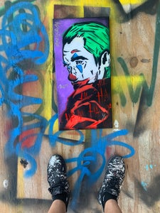 Image of Joker HA HA HA HA!! Painted by Officialnehs
