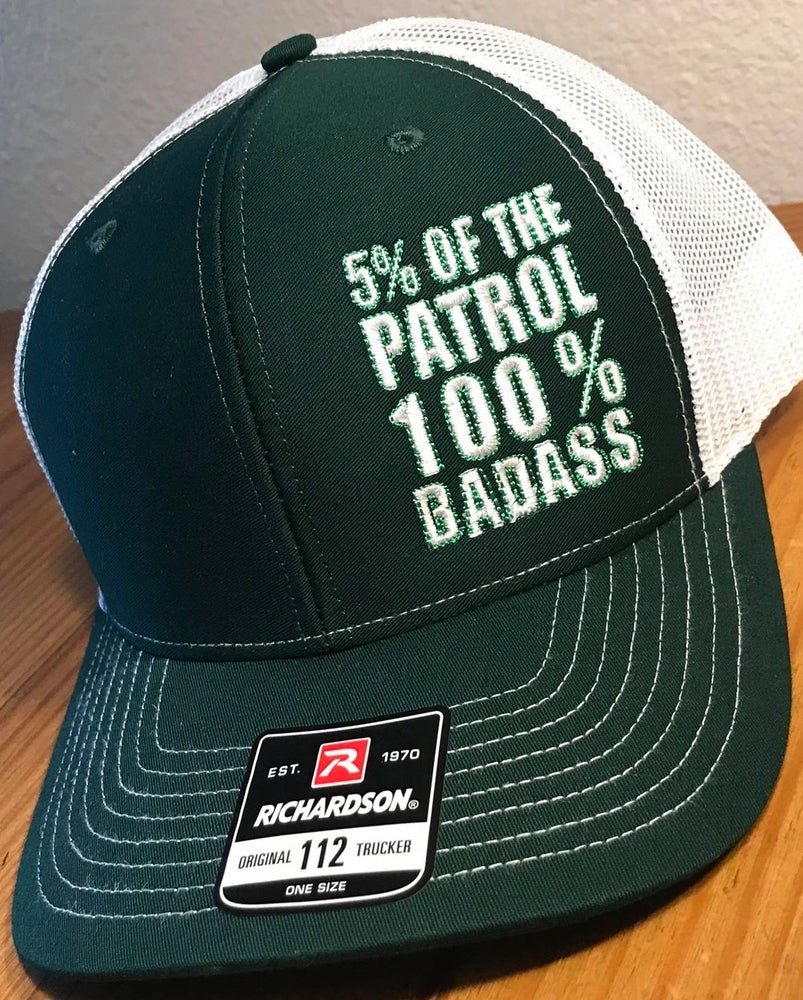 Image of 5% of the PATROL ~ 100% BADASS RETRO TRUCKER