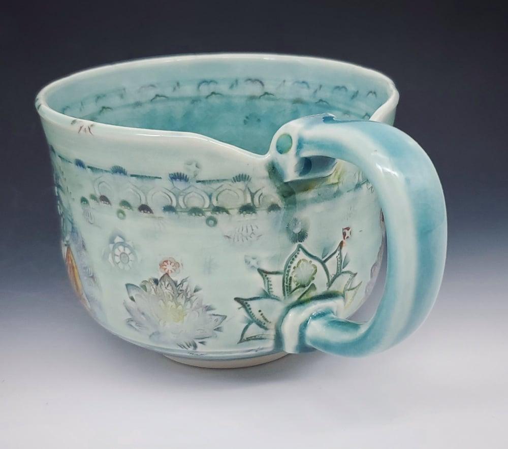 Image of Bhuddha Lotus Porcelain Mug