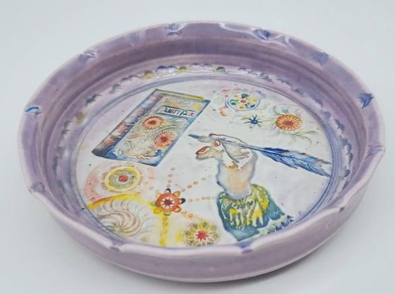 Image of Writer's Inspiration Porcelain Dish
