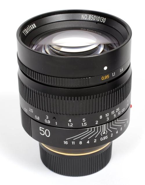 Image of TTArtisan Leica M mount 50mm F0.95 ASPH (Noctilux) (BLACK) - IN STOCK