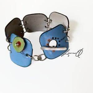 Garden  Enamel Bracelet