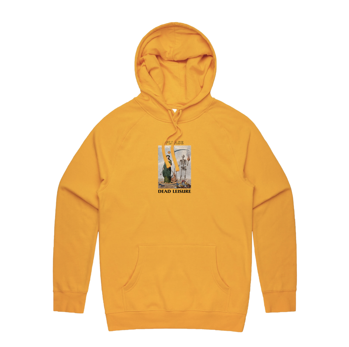 Please Pullover Hoodie - Gold