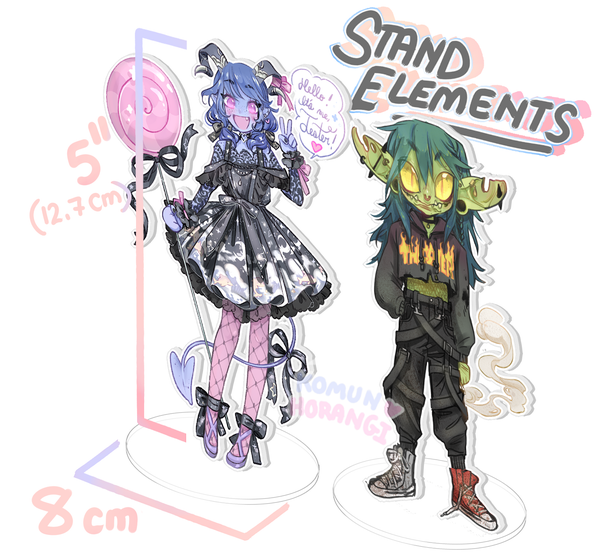 Image of Jester and Nott Standees