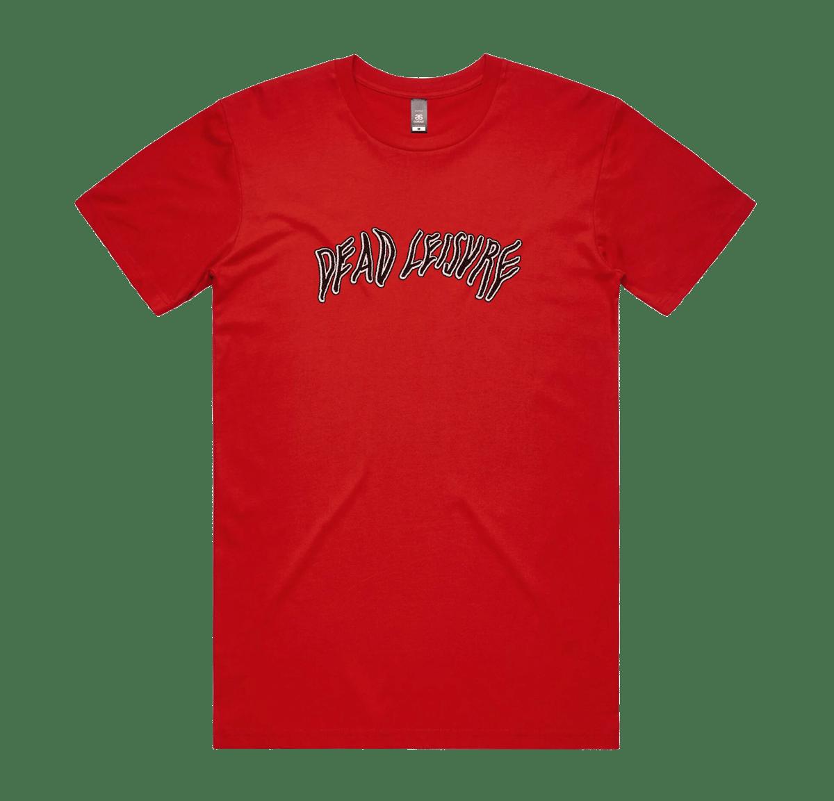 Dead Melt logo T-shirt - Red
