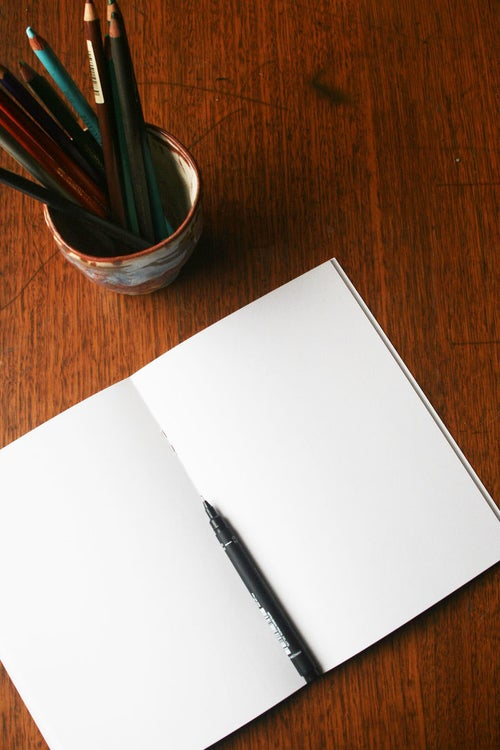 Image of Wattle ~ Blank Notebook