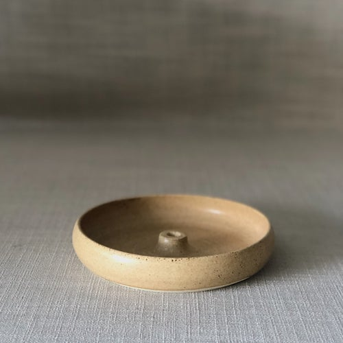 Image of EARTHY ORANGE INCENSE DISH