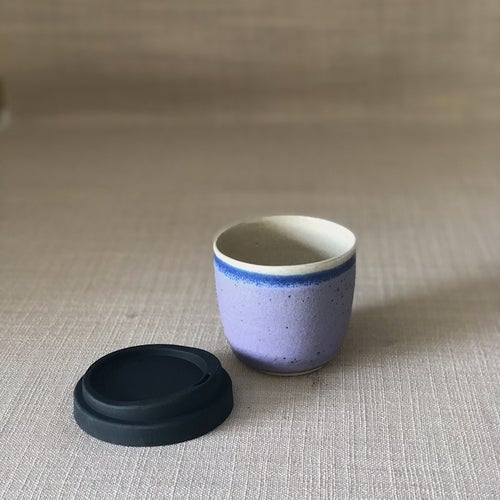 Image of EARTHY PURPLE SMALL TRAVEL CUP