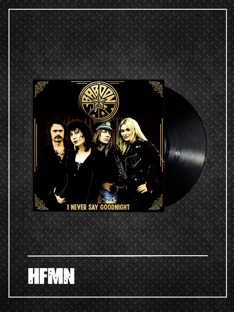 """Image of PRE-ORDER - THE BABOON SHOW - I NEVER SAY GOODNIGHT - 12"""" Etched Black Vinyl"""