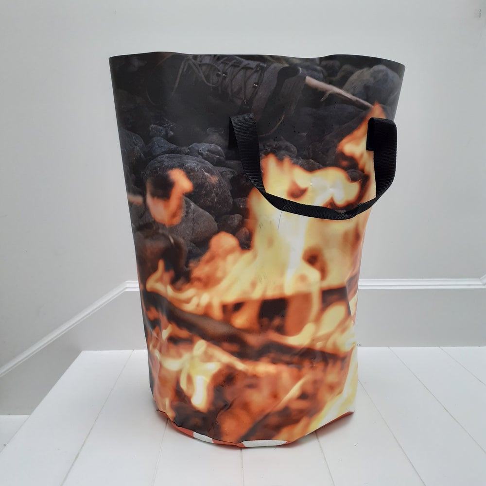 Image of (Double sided) - campfire